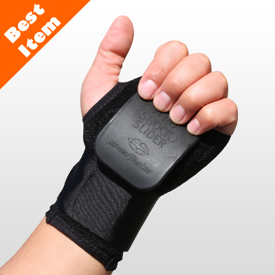 손목보호대[wrist guard]+Zero Shock Slider